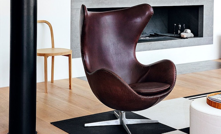 Jacobsen's iconic Egg armchair